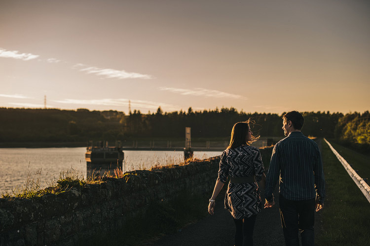 engagement shoot carrick dams