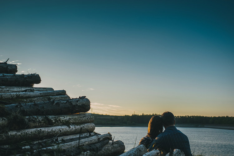 log pile engagement session
