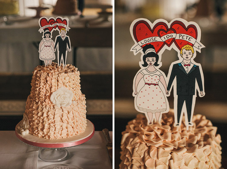 punk cake toppers illustrations