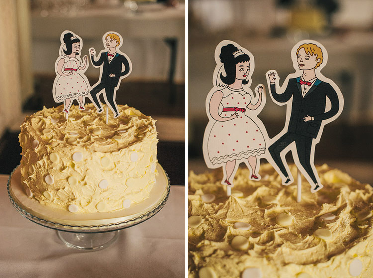 commissioned illustrations  wedding cake toppers - Russell Taysom