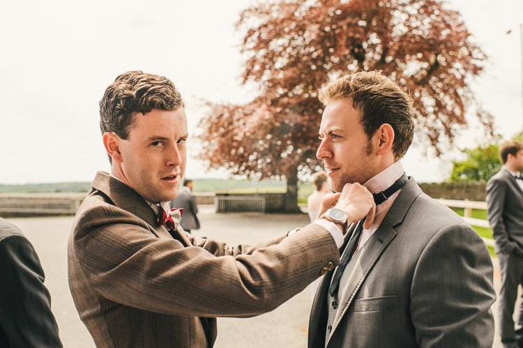 bow ties at wedding groomsmen