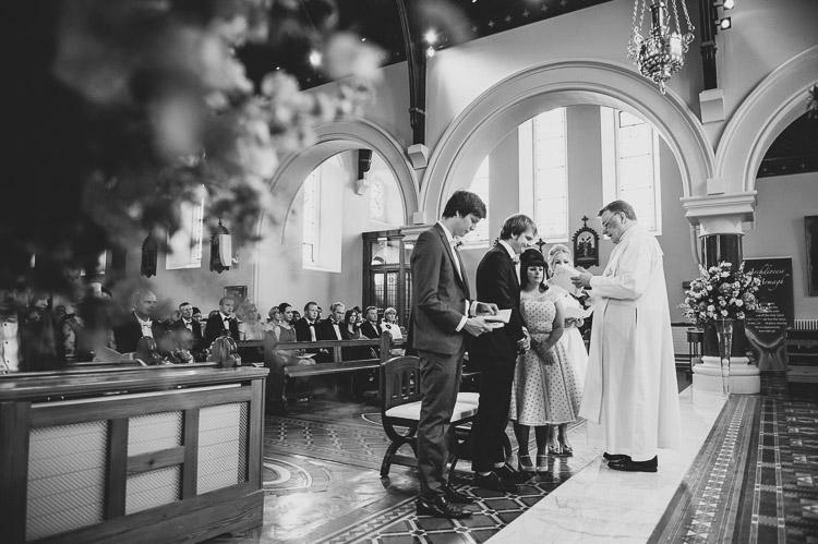 A 1950s Americana inspired wedding at Parkanaur Estate, N. Ireland