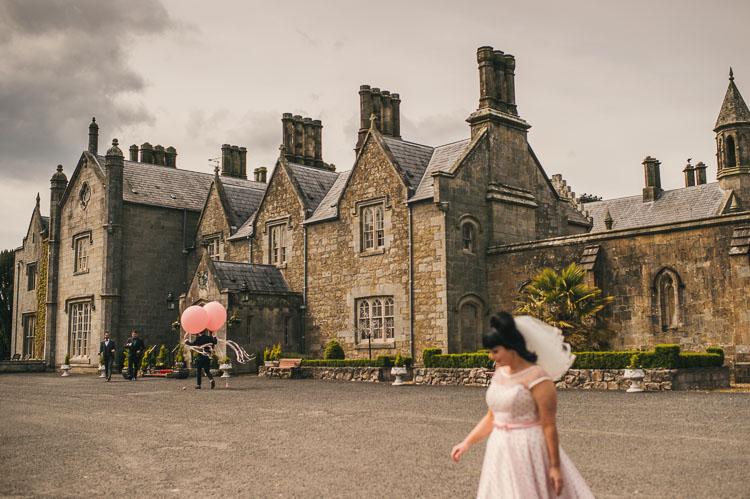 Parkanaur Manor House retro wedding