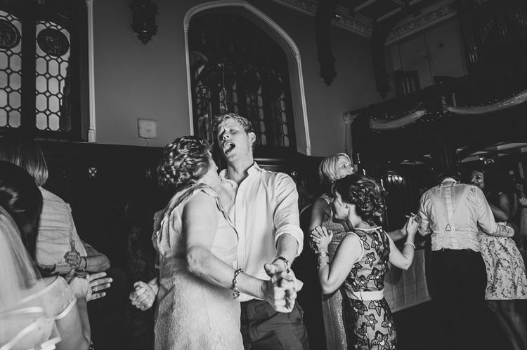 1960s retro alternative wedding