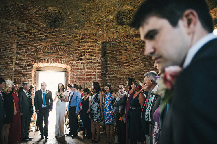 wedding at Mussenden Temple