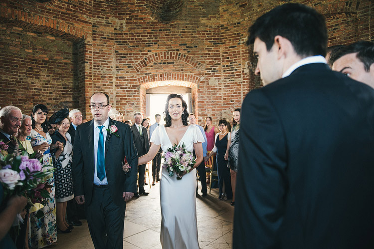 ceremony at Mussenden Temple