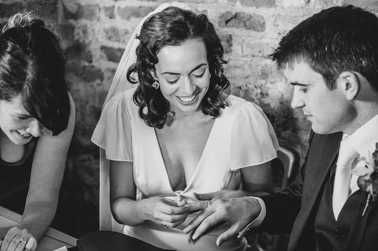 wrong ring finger wedding