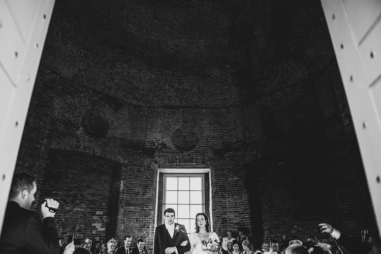 married at Mussenden Temple Downhill