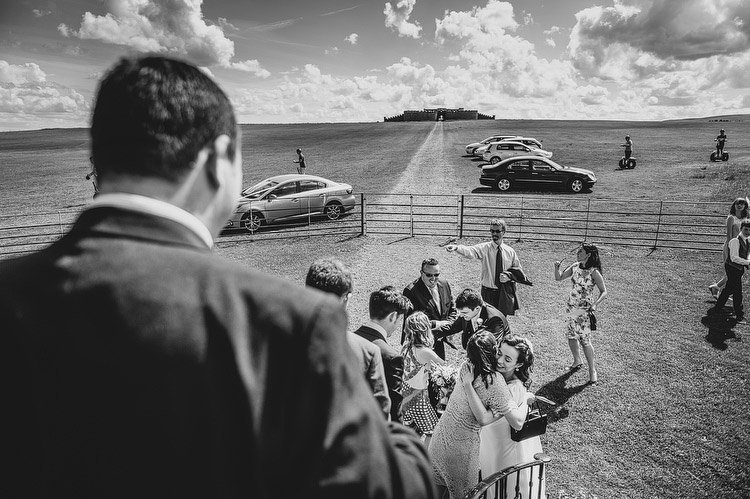 documentary photography Mussenden Temple Wedding