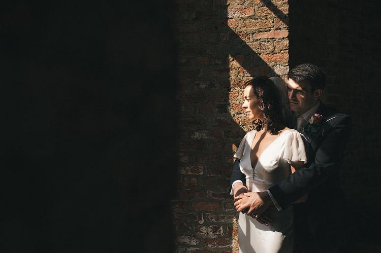 Mussenden Window portraits wedding