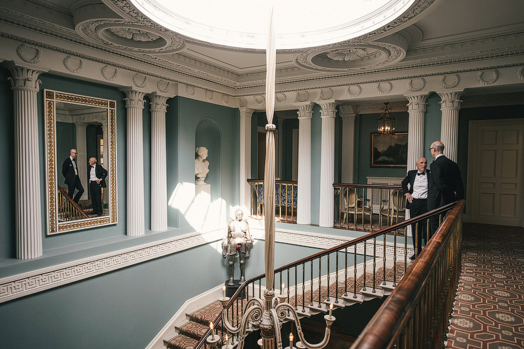 Ballyfin Demesne interior wedding