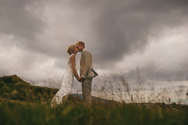 Donegal beach wedding photographer