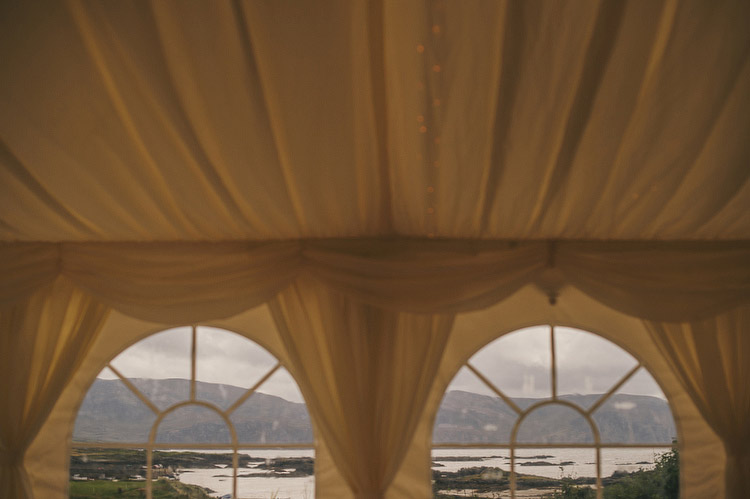 marquee beach wedding