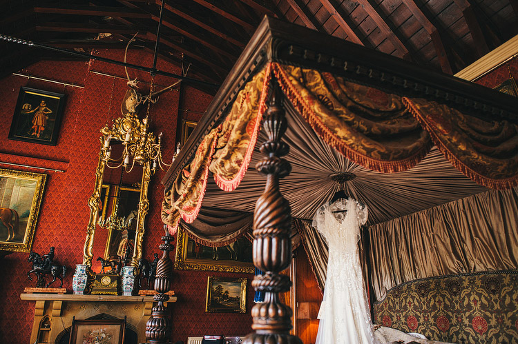 the king's room Maunsel House wedding dress