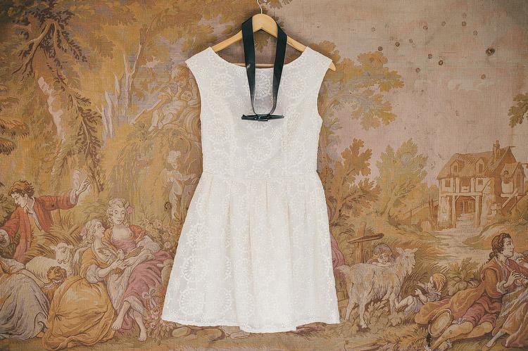 Top Shop wedding dress