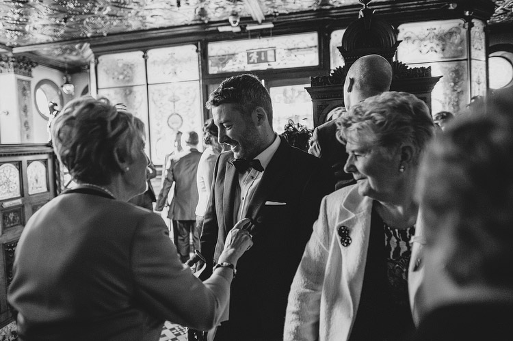 Crown Bar Wedding in Ireland