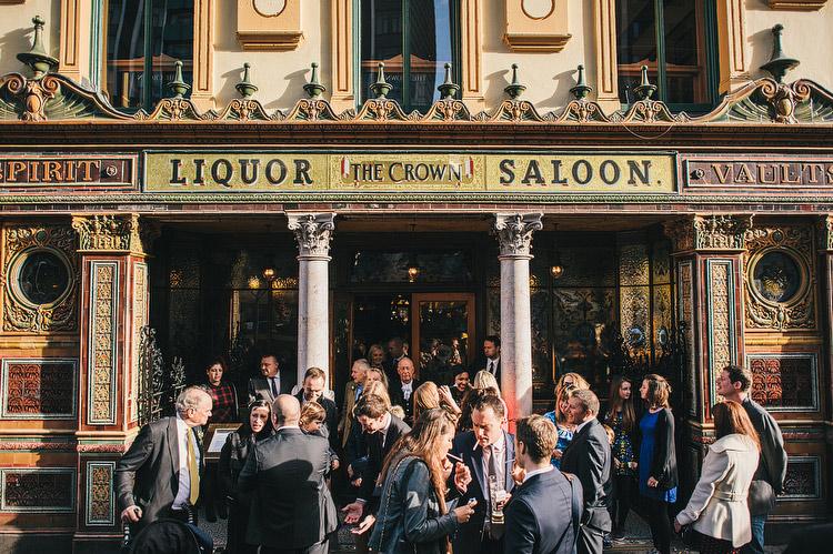 Belfast Bar Pub wedding