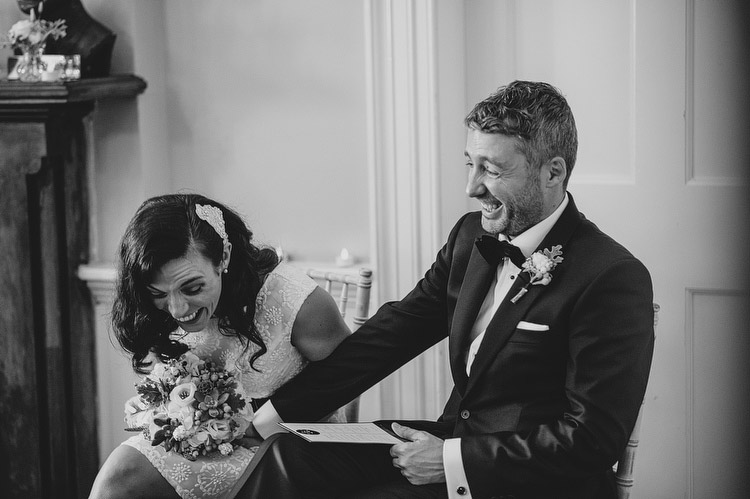 Clifton house wedding ceremony belfast