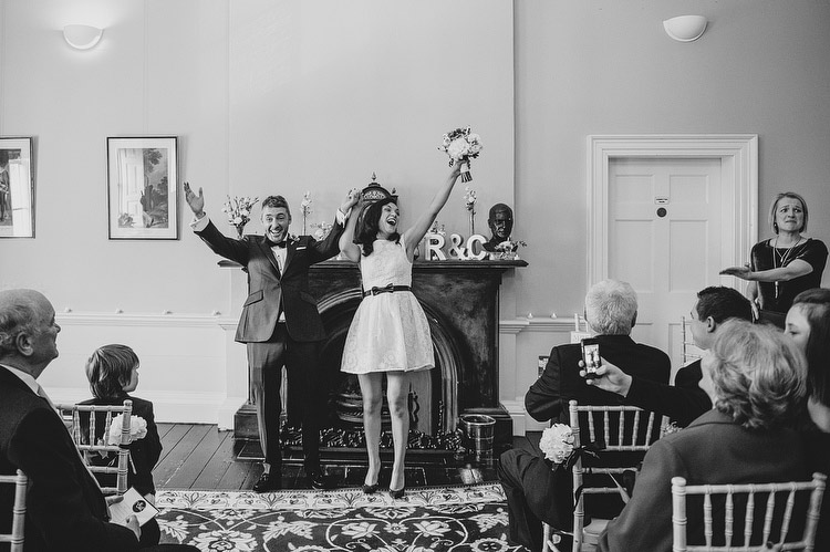 wedding civil marriage at clifton house