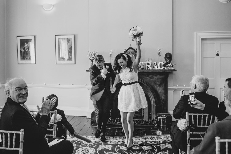 civil ceremony at clifton house