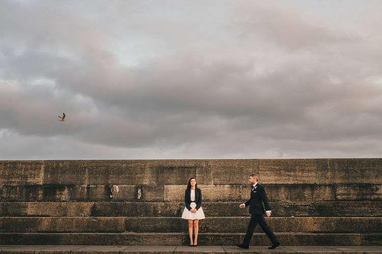 Ireland Seaside wedding photography