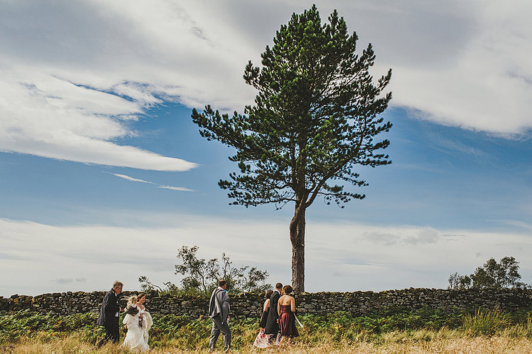 wedding on the moors