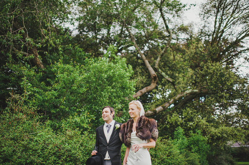 backyard garden wedding in Ireland