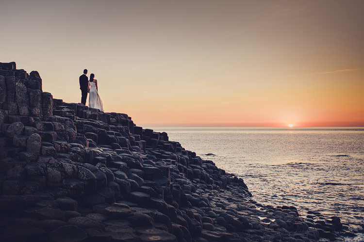 Giant's Causeway Wedding