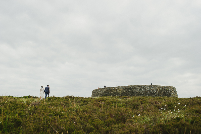Grianán of Aileach wedding photography
