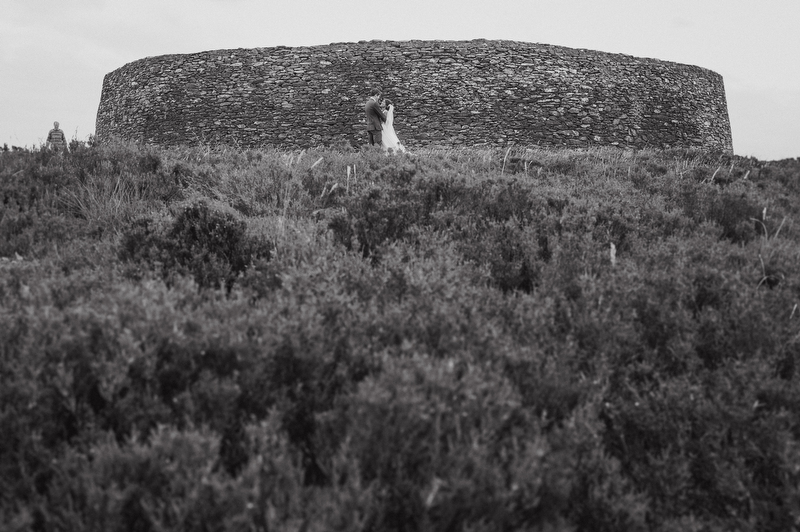 ireland neolithic wedding portraits