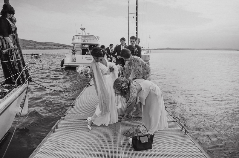 sailing wedding