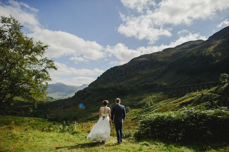 trossachs wedding photo