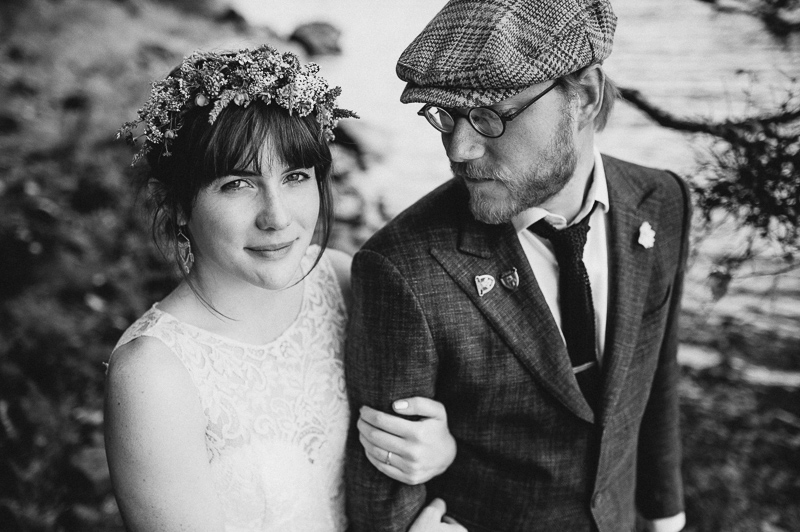 alternative scottish wedding photographer