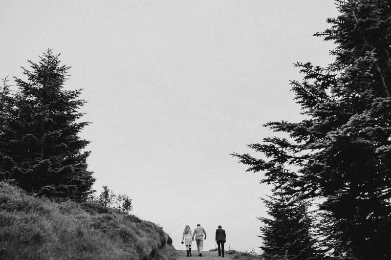 wedding vows on a mountain ireland