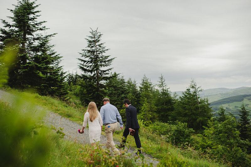 forest elopement ireland