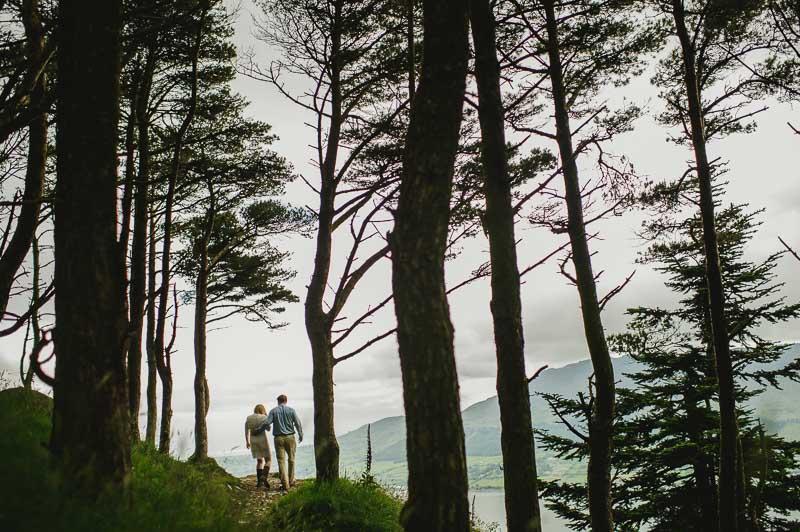 elopement in forest ireland