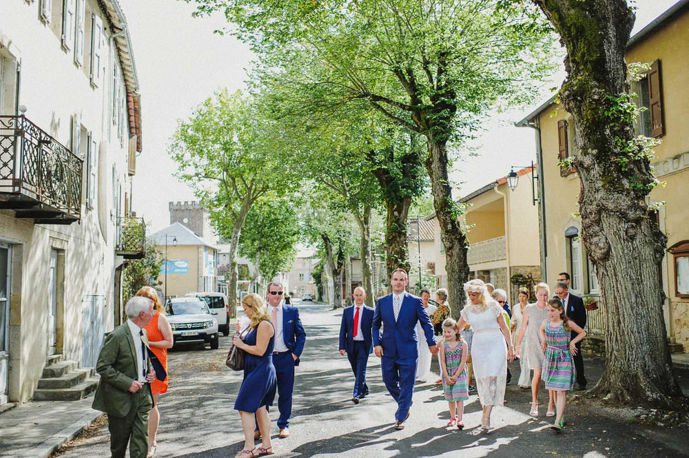 village wedding france