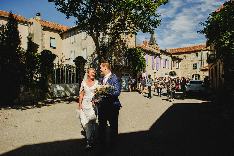 french village wedding