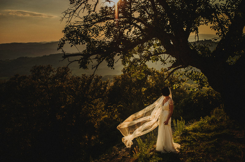 artistic wedding photography Umbria
