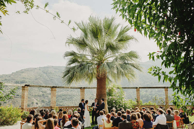 outdoor wedding andalusia