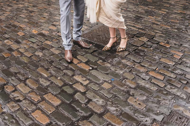dublin cobblestones wedding