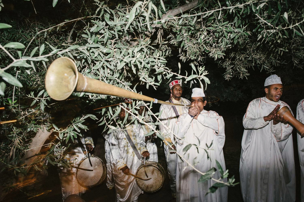 moroccan music wedding