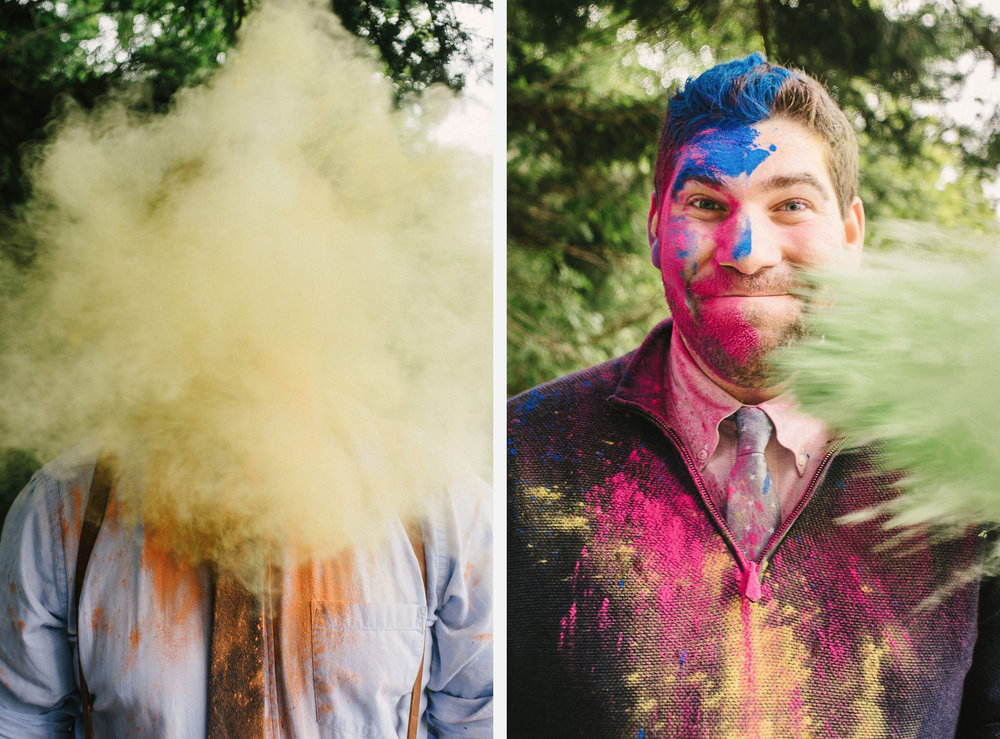 paint powder wedding Holi