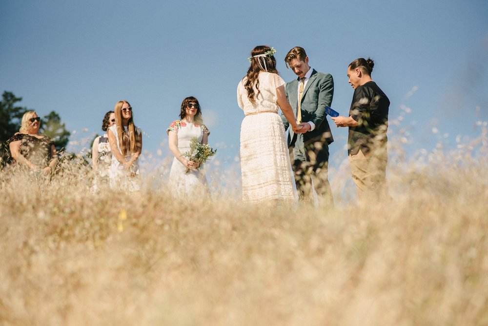 Tamalpais Wedding Ceremony