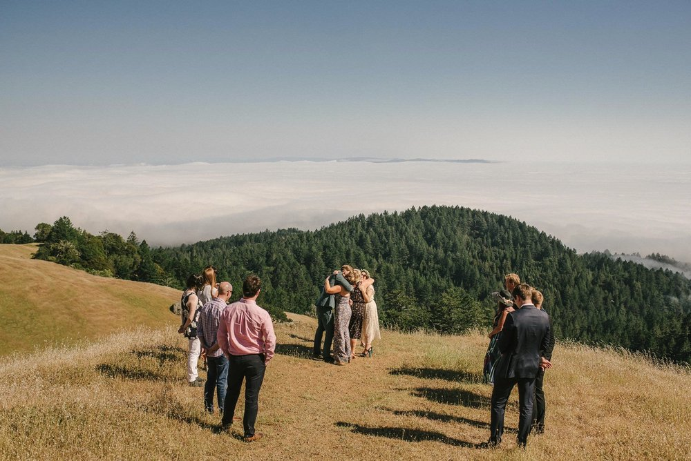 Mountain Wedding Ceremony San Francisco