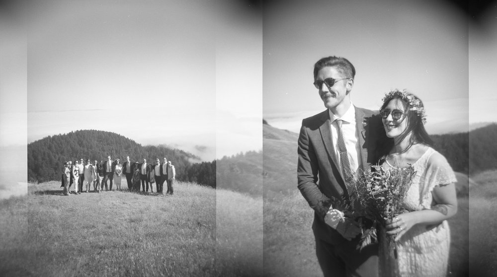 Holga film wedding San Francisco