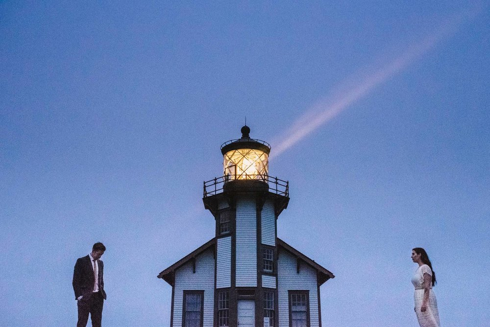 Point Cabrillo Light Station Wedding Photography
