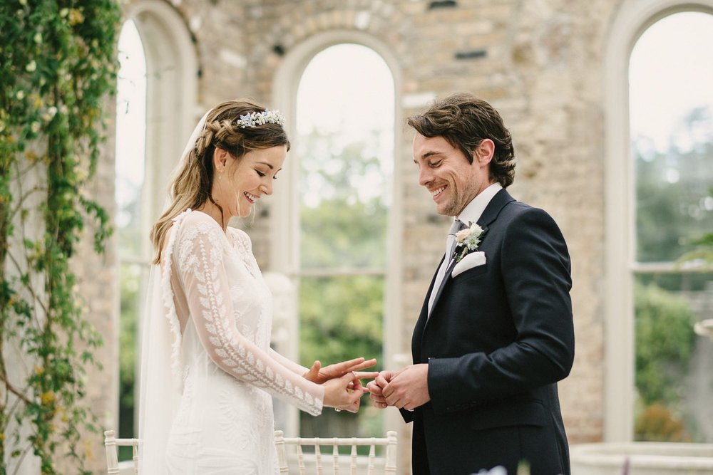 Killruddery House Orangerie Wedding Ceremony