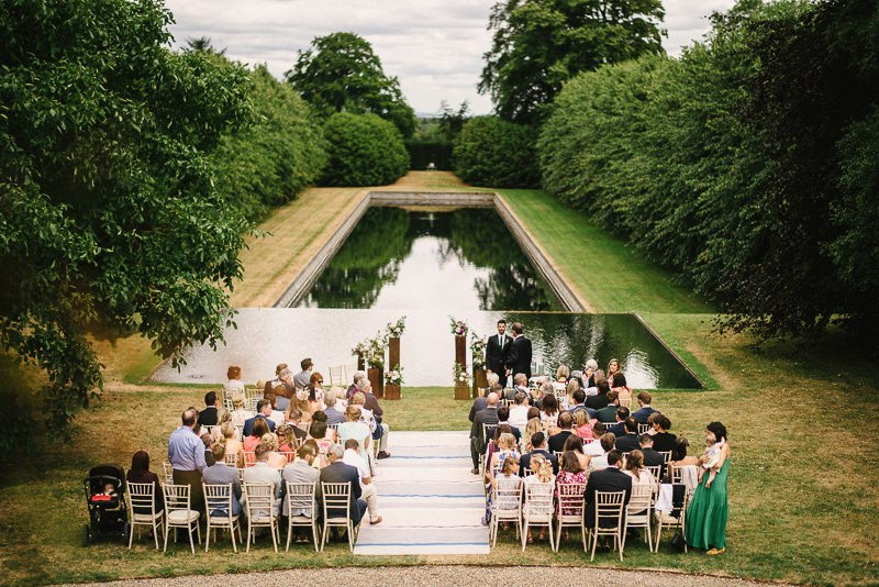 wedding outdoor ballintubbert house