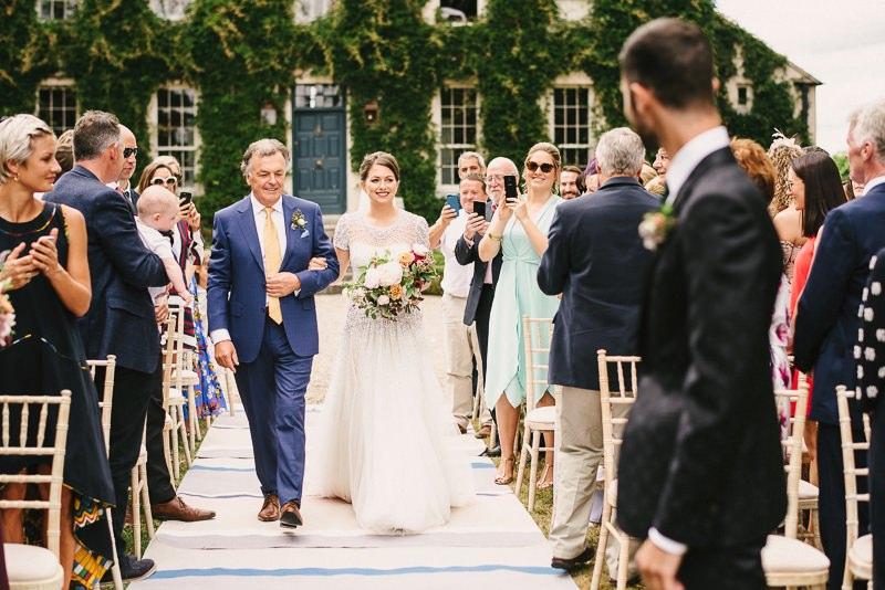 ballintubbert house wedding ceremony
